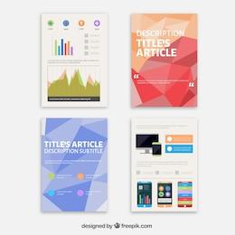 Coleção de folhetos Tecnologia