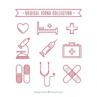 Coleção Ícones médicos