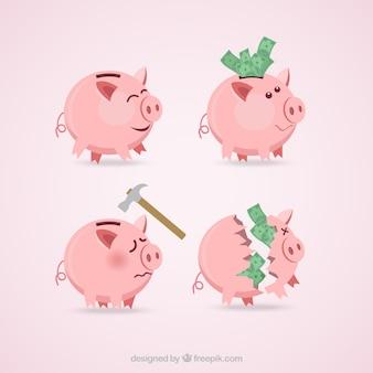 Coleção Piggybanks