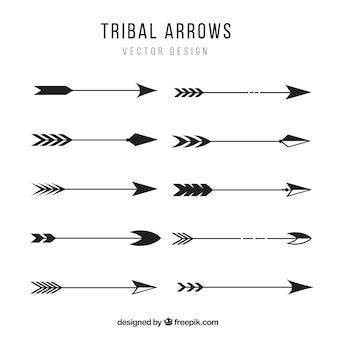 Coleção setas tribais