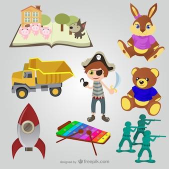 Coleta de brinquedos