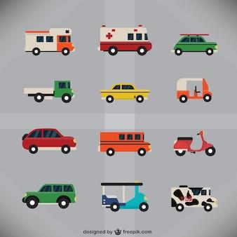 Coleta de veículos urbanos