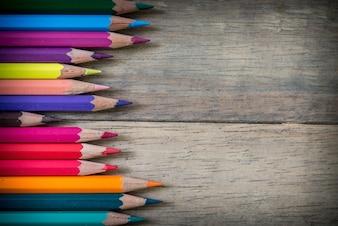 Colorido arte criativa de papel brilhante