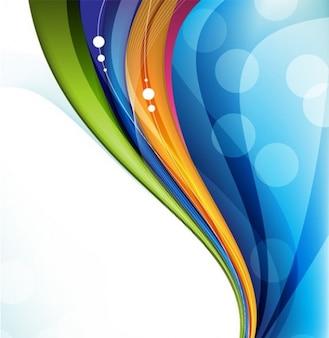 Colorido onda verticais fundo desenho abstrato