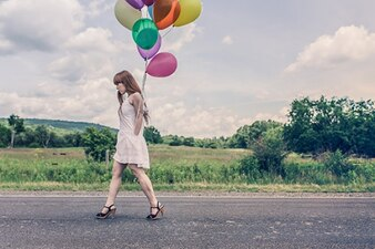 Balões coloridos