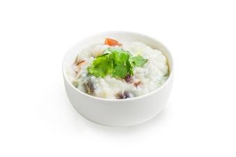 Comida chinesa, Ovo do século e congee