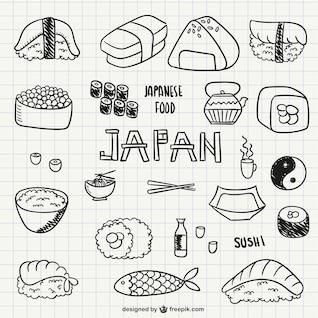 Comida japonesa e sushi