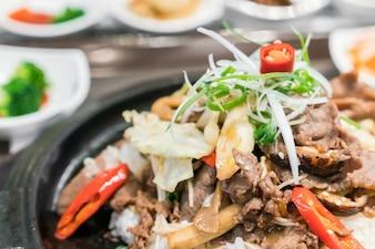Comida tradicional coreana