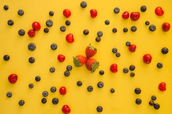 Composição de frutas