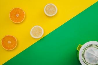 Composição de suco de citrinos