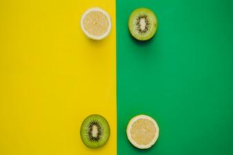 Composição do espaço vazio dos citrinos