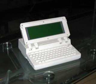 computador portátil vintage