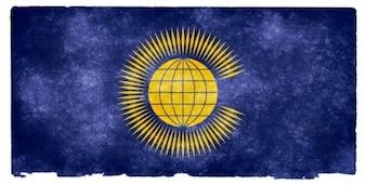 Comunidade das Nações bandeira do grunge