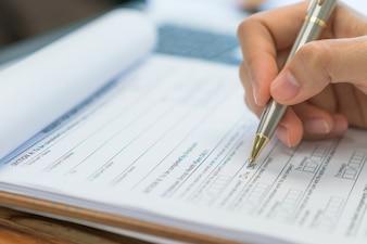 Conceitos de exame não marcam nenhuma aplicação