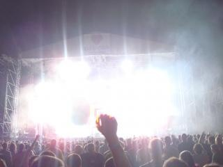 concerto diversão multidão multidão
