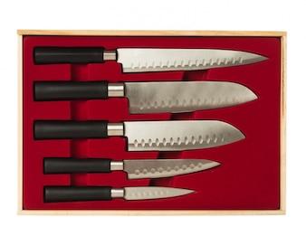 Conjunto de facas de cozinha
