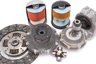 Conjunto de peças mecânicas