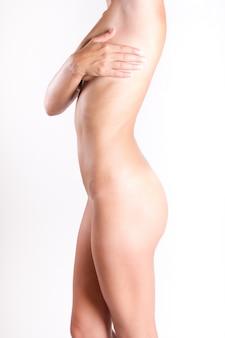 Consulta mulheres nuas peito saudável