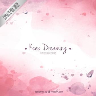 Continua a sonhar fundo