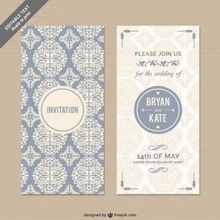 Convite de casamento CMYK Floral