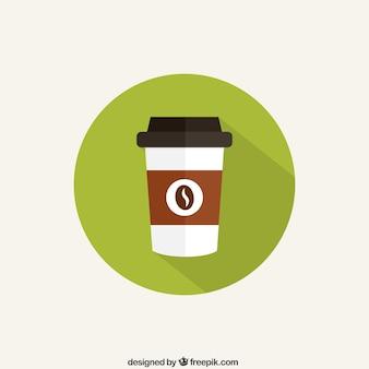 Copo de café ícone