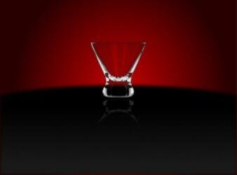 copo de coquetel (cosmopolita)