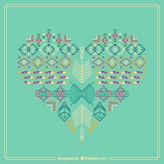 Coração Aztec