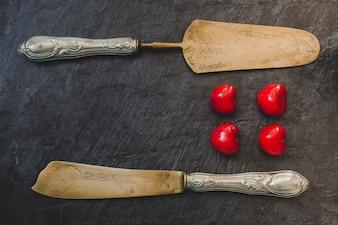 Cozinhando sobremesa de cereja