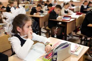 criança menina da escola
