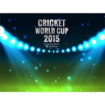 Cricket campeonato do mundo de fundo