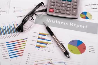 Dados do relatório Calcular o preço ter sucesso