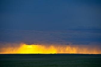 Dark Stormy Horizon