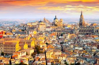 Dawn vista de Toledo