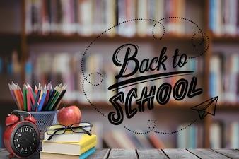 De volta às fontes de escola