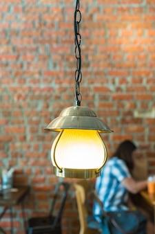 Decoração da lâmpada vintage