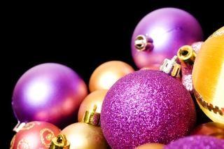 Decoração de Natal, iluminada