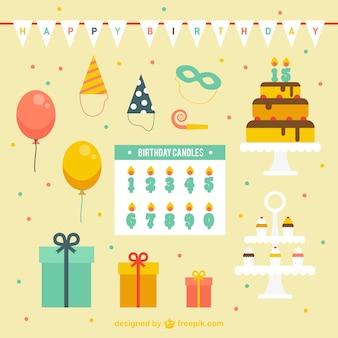 Decoração do aniversário