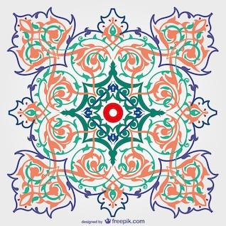 Decorativo floral livre fundo