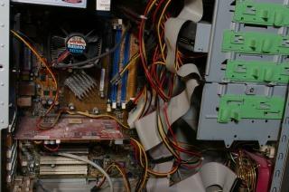 Dentro de um computador, gráfico