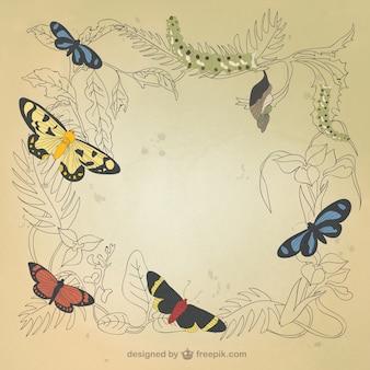 Desenho decoração natural