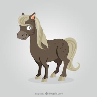 Desenhos animados do cavalo