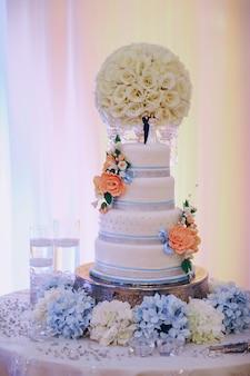 Dia do casamento maravilhoso