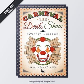 Diabo carnaval panfleto
