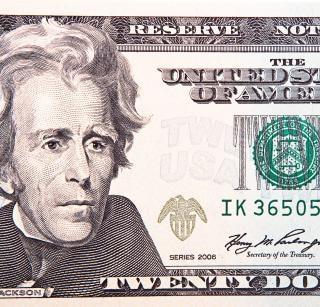Dinheiro objetos dólar