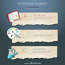 Disciplinas de educação Infográfico