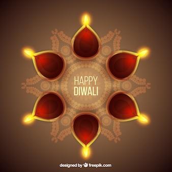 Diwali Fundo feliz