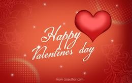 Download grátis de alta qualidade feliz dia dos Namorados cartão template psd