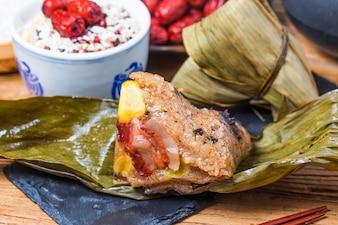 Dragon Boat Festival bolinhos de arroz