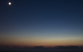 Dusk paisagem