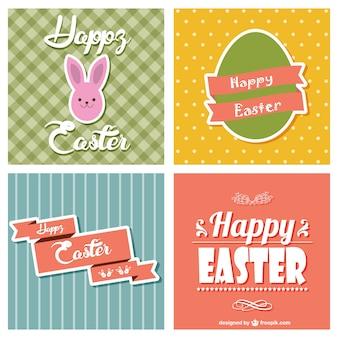 Easter coleção cartões